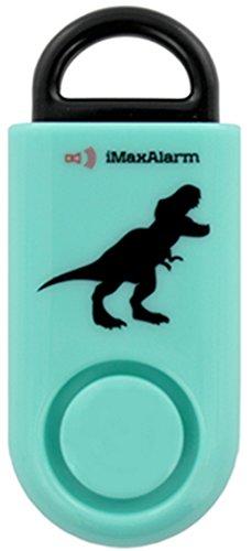 iMaxAlarm SOS Alert Personal Alarm - 130dB Alarm - Safety & Security Emergency Device - T-Rex