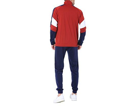 M Blu Puma Tricot Suit Bordeaux Bordeaux Tuta 37 594842 Bx07p0Fqw