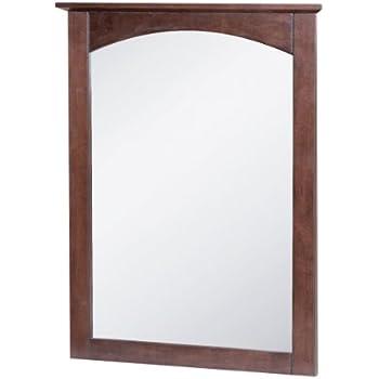 Foremost COCM2128 Columbia 21 Inch Cherry Bathroom Mirror