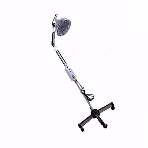 BoNew 250W TDP Lamp Simple Floor Standing Heat Adjustable Independent Head Pain Relief Heating Device 29A