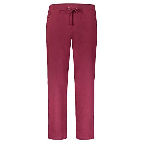 AKA Fleece Cotton Sweatpants for Men Regular-Fit - Sweatpant Burgundy Large
