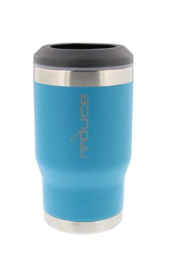 reduce COLD-1 Powder Coat Bottle/Can Cooler (Aqua)