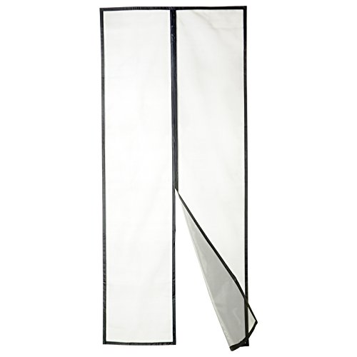 APALUS New Fiberglass Magnetic Screen Door, 36x83, Super Strong Fly Mesh, 28 Magnets from Top to Bottom Ultra Seal Magnets Close Automatically
