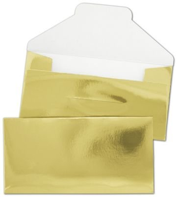 amazon com gold gift certificate envelopes 3 1 4 x 6 1 2 200