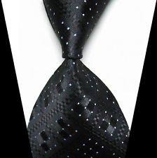 [jacob alex #38816 Classic Necktie Elegant Plaids Tie WOVEN JACQUARD Silk Men's Suits Ties] (Halloween In Australia)