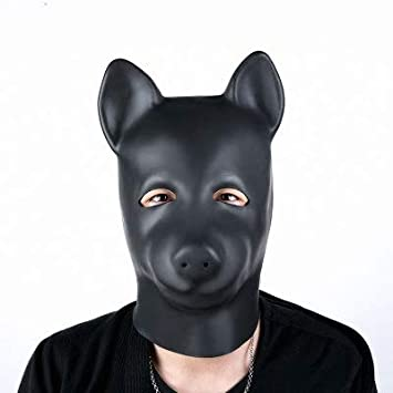 Puppy bondage mask would