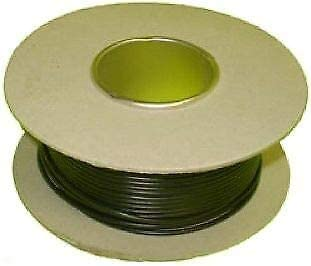 50M Green//Yellow 1.5mm 21Amp 12v Automotive Cable Wire Marine