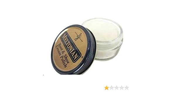 Amazon.com: Boot & Shoe Cream Polish WINTER WHITE MELTONIAN #83 Size 1.55 oz: Baby
