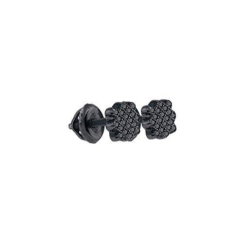 Tw Diamond Cluster Earrings - 7