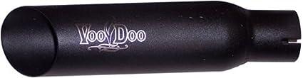 VooDoo Industries VER6VK6B Black Exhaust for Yamaha YZF-R6