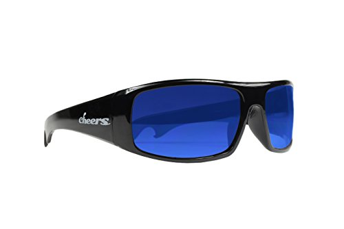 Playmakers Blue Lens Polarized Cheers - Sunglass Makers
