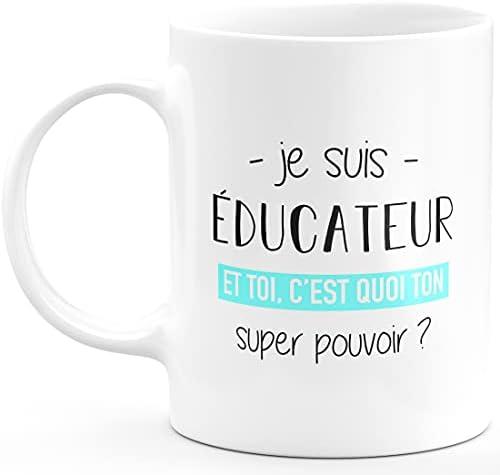 Mug éducateur Super Pouvoir – …