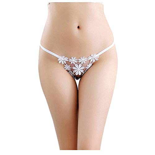 - F_Gotal Sexy Underwear for Sex Womens Lace G-String Bowknot Panties Sexy Thongs Knickers Briefs