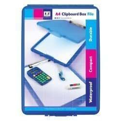 Carpeta A4 de plástico compacto portapapeles caja depósito