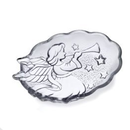 - Mikasa Celebrations Holiday Collection 6-Inch Angel Candy Dish