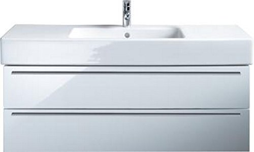 Duravit Vanity Unit (Duravit XL635402222 XL vanity unit for #032912 White Matt Gloss High Decor)