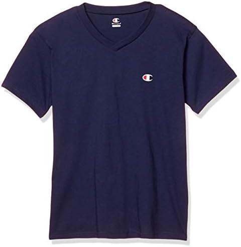[チャンピオン] VネックTシャツ(ワンポイント) CM1HR202 メンズ