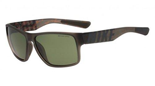 Nike Golf Mojo Sunglasses, Matte Deep Pewter/Total Orange Frame, Green - Orange Nike Sunglasses