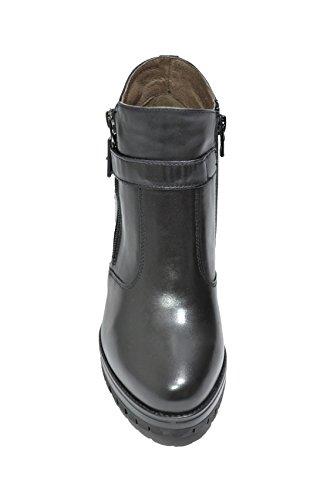 Nero Giardini Polacchini scarpe donna nero 6420 A616420D