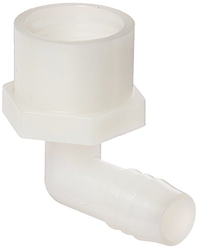 Parker Hannifin 370HB-8-8N Par-Barb Nylon Female Elbow Fitting, 90 Degree Angle, 1/2