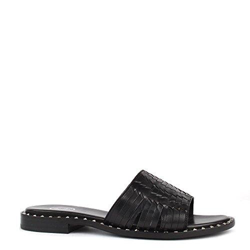 Ash Zapatos Playa Sandalias Negro Mujer Negro