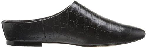 Toe Crocodile Fix The Slide Diem Black Mule Pointed Women's FqdOI