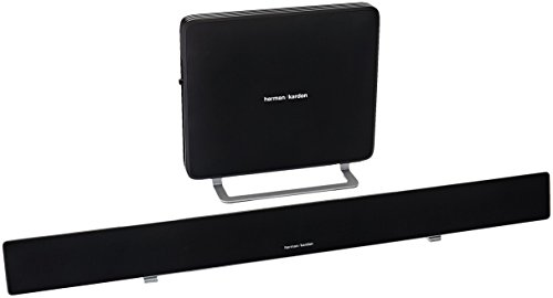 Harman Kardon SABRE SB35 Ultra-Slim Home Entertainment Soundbar with Compact Subwoofer by Harman Kardon