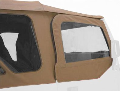 RAMPAGE PRODUCTS 89717 Spice Factory Replacement Door Skins (for Soft Upper Doors) for 1997-2002 Jeep Wrangler TJ