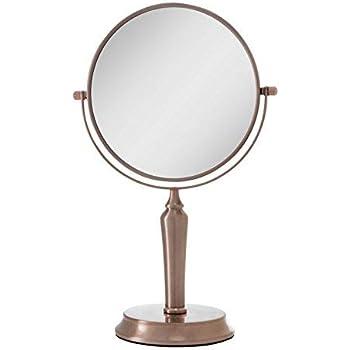 Amazon Com Zadro Two Sided Vanity Swivel Mirror 5x 1x In
