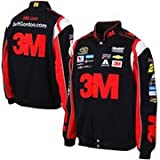 Jeff Gordon 3M Mens Black Twill Nascar Jacket by JH Design (L)