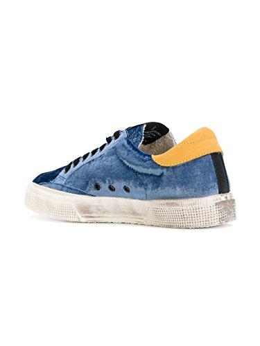 GOLDEN GOOSE Mujer G31WS127H1 Azul Algodon Zapatillas