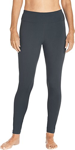 Coolibar UPF 50+ Women's Deep Water Swim Tights - Sun Protective (Small- Graphite) ()