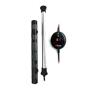 Finnex 500W Digital Touch Control Aquarium Titanium Heater Guard 79