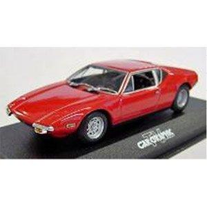 1/43 デトマソ パンテーラ 1974 レッド CAR GRAPHIC  「CAR GRAPHIC TV Selectionシリーズ」 40P127500の商品画像