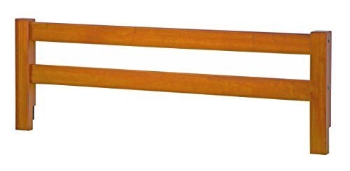 "Safety Rail Guard for Beds and Bunk Beds 1004 by Palace Imports, Honey Pine, 14.75""H x 42.75""W, 2""x 2"" Posts by Palace Imports"