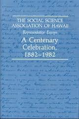 The Social Science Association of Hawaii,…