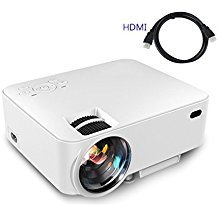 Video Projector,(Warranty Include)1500 Lumens Multimedia Portable Video Projector 170