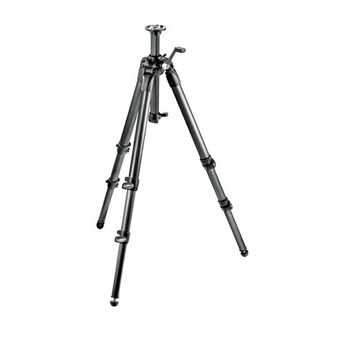 Manfrotto MT057C3-G 057 Carbon Fiber 3 Section Tripod with Geared Center Column