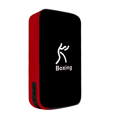 TigerBoss One Karate Taekwondo Boxing Kick Punch Adjustable Soft Shield Durable Training Pad for Boxing,Training and Protecting Your Palm,Wrist and Decreasing The Shock (Black) (Taekwondo Target Bag)