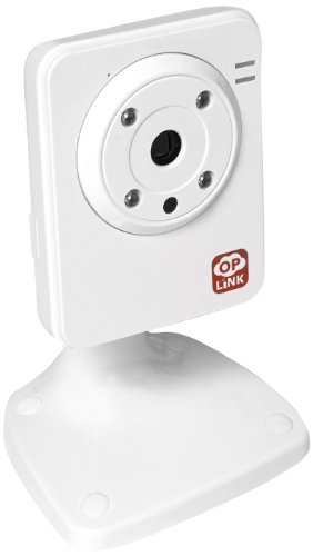 Oplink Connected IPC1200 Wi-Fi IP Camera (White) by Home8