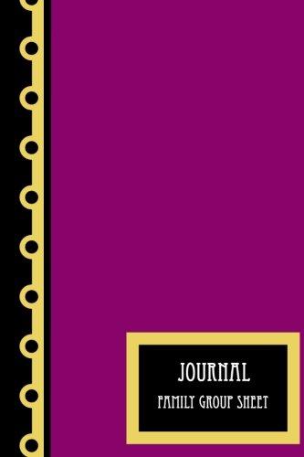 Journal: Family Group Sheet ()