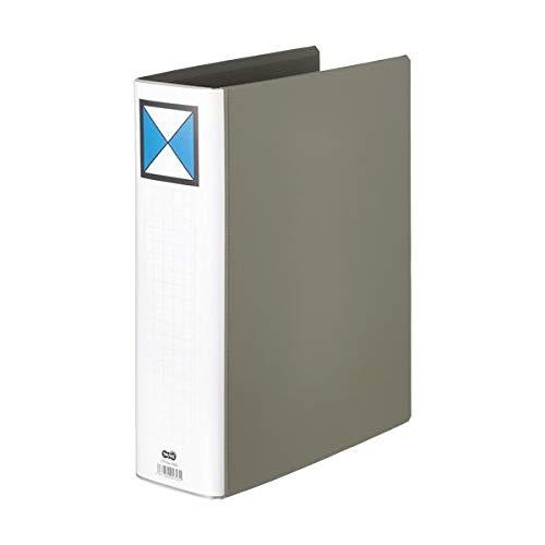 TANOSEE 両開きパイプ式ファイルA4タテ 700枚収容 70mmとじ 背幅86mm グレー 1セット(30冊) 生活用品 インテリア 雑貨 文具 オフィス用品 ファイル バインダー その他のファイル 14067381 [並行輸入品] B07L35BKC9