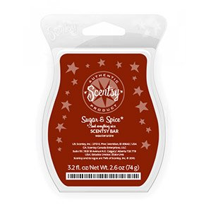 Scentsy Sugar Spice 3 2oz Retired