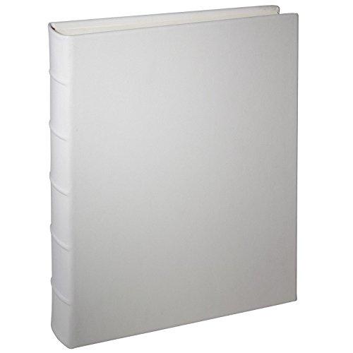 MEDIUM 9x12 Wedding White Leather Bound Album by Graphic Image™ - 9x12