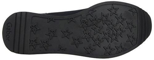 EU 38 Bassa 5 Scarpa Fashion Gabor Shoes Donna Gabor Nero Schwarz w8qIPIv