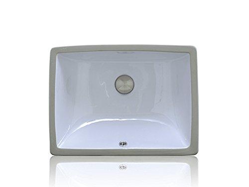 Apogee by Lenova Sinks - Vitreous China Bathroom Undermount Sink