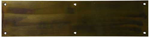 Cal Royal PSPL40165 Push Plate, 4 by 16-Inch, Antique (Cal Royal Antique Brass)