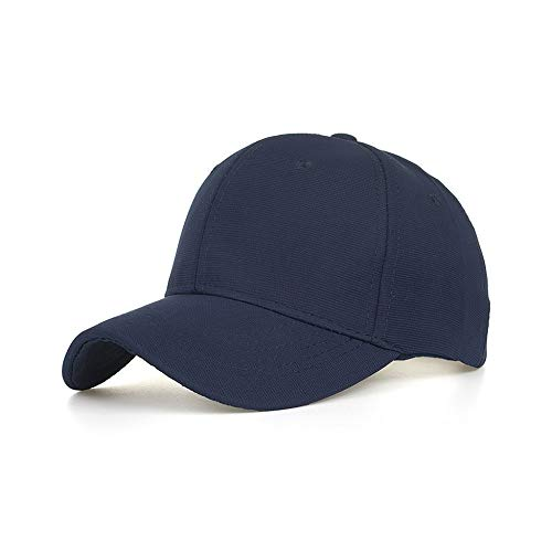 - Antty Korean Casual Fashion Summer Unisex Cotton Embroidered Unisex Baseball Caps Adjustable Casual Hats Sun Hats (Navy)
