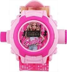 RVold VE 24 Images Pink Projector Pretty Girl's Digital Toy Watch