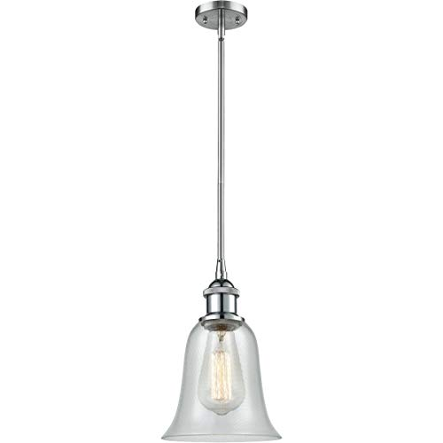 Pendants 1 Light Fixtures with Polished Chrome Finish Cast Brass Glass Material Medium 6